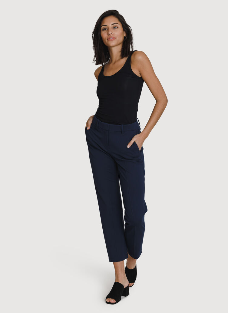 Coastline Trouser *Light, Deep Navy | Kit and Ace