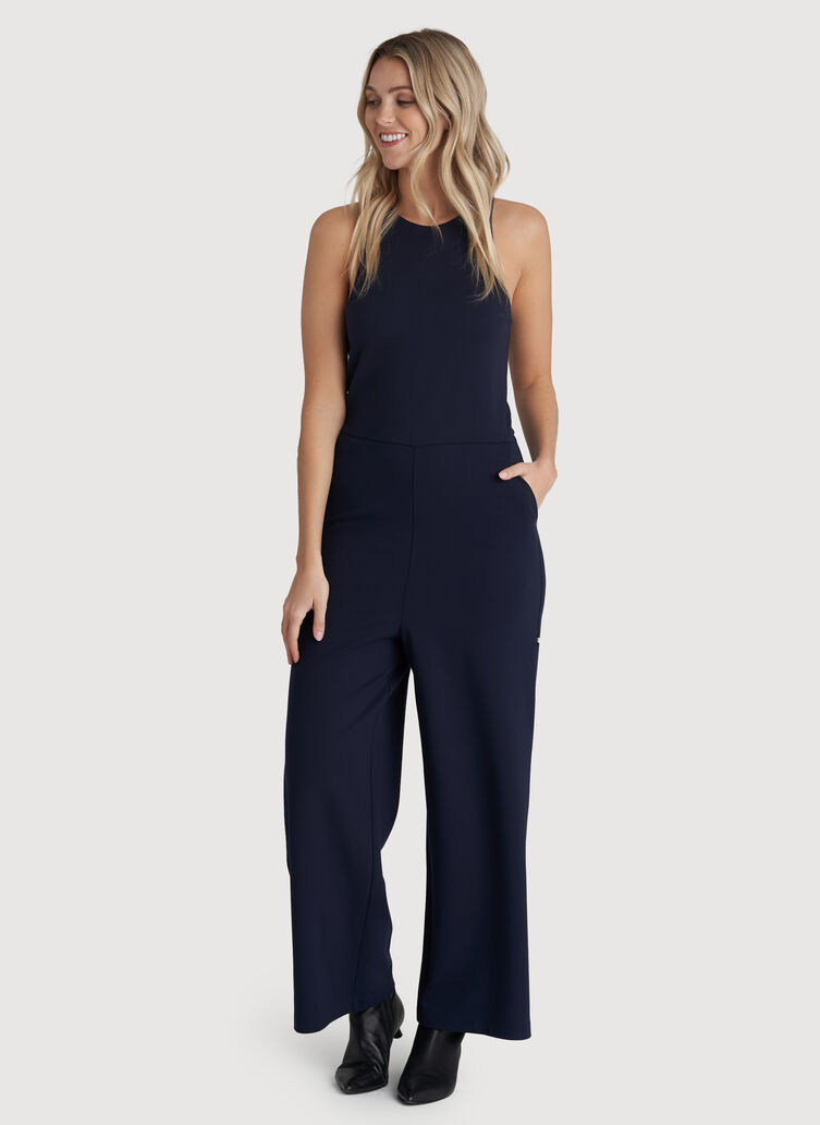 Made to Move Jumpsuit, Dark Navy | Kit and Ace