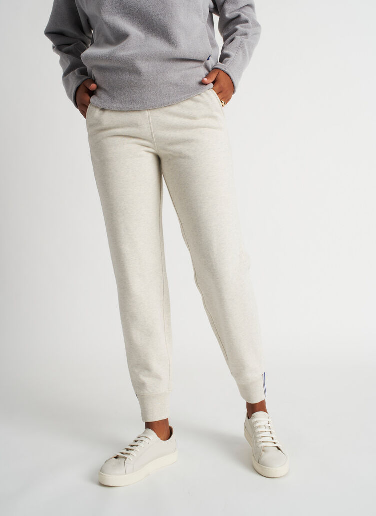 Pacific Coast Sweatpants, Heather Birch | Kit and Ace