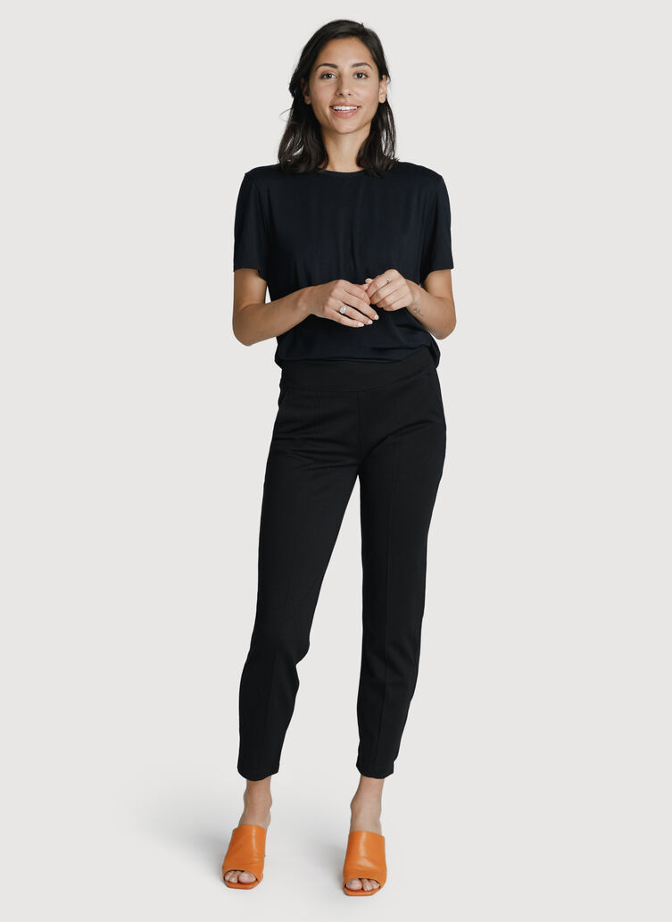 On Repeat Trouser *Light, BLACK | Kit and Ace