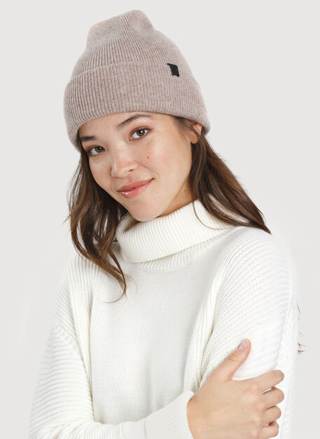 Stack Toque, HTHR Warm Taupe | Kit and Ace