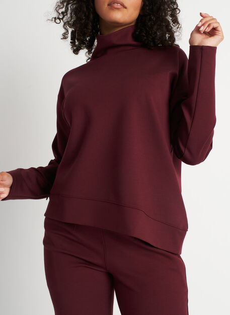 Serenity Pullover, Heather Plum | Kit and Ace