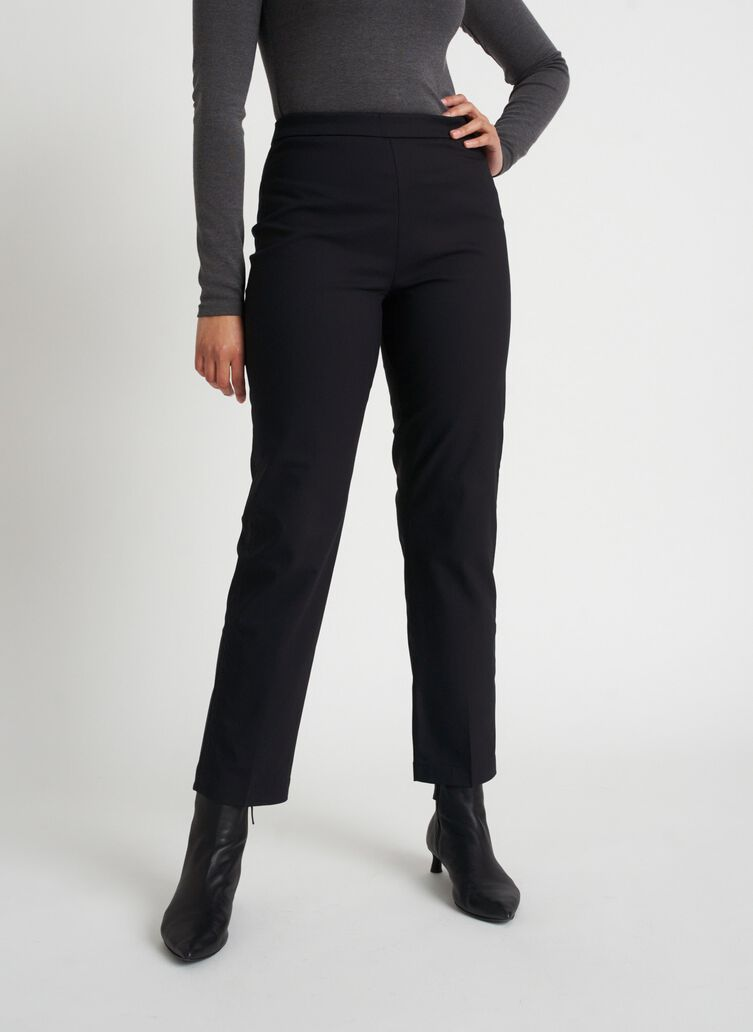 All Day Ankle Pants | Navigator Collection, Black | Kit and Ace