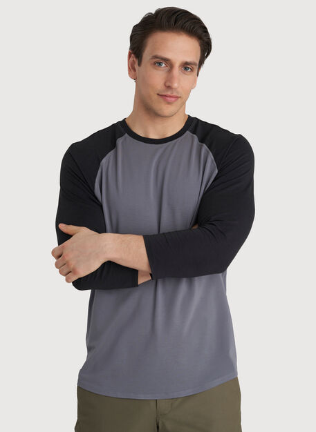 Ace Baseball Tee, Shade/Black | Kit and Ace