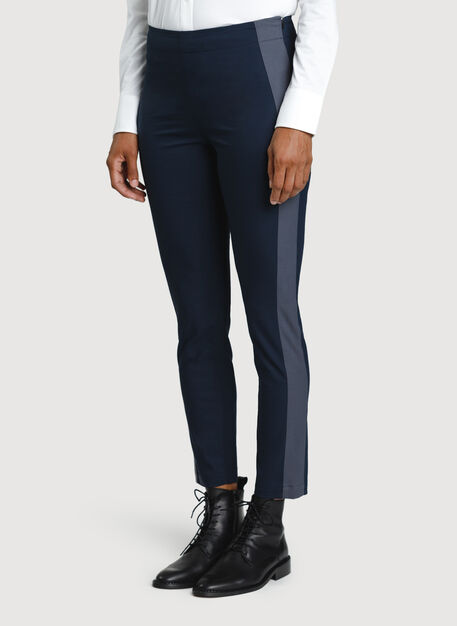Navigator Classic Ankle Pant, DK Navy/Cove Grey | Kit and Ace