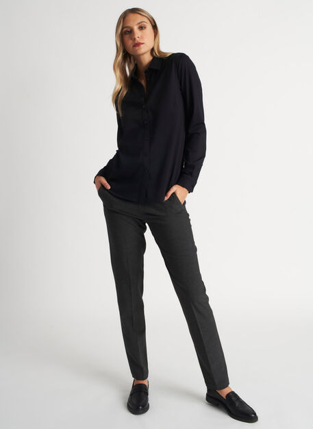 On the Move Classic Blouse, Black | Kit and Ace