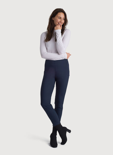 Navigator Classic Ankle Pant, DK Navy | Kit and Ace
