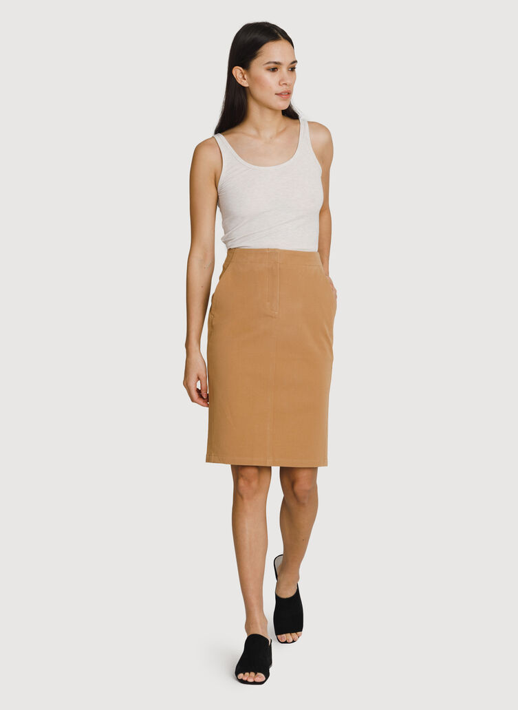 Coast to Coast Skirt, Sepia | Kit and Ace