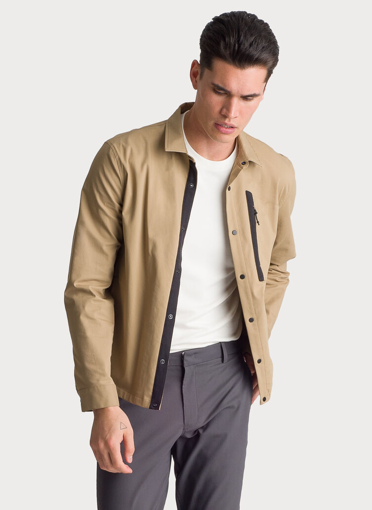 Navigator Stretch Jacket, Petrified Oak | Kit and Ace