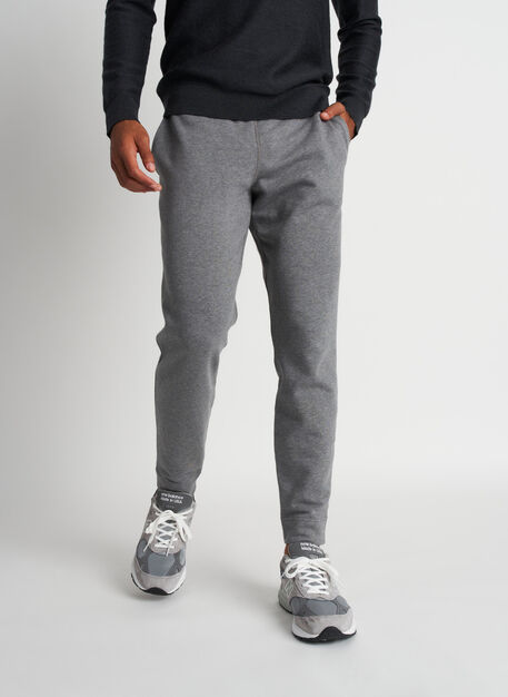 West Coast Sweatpants, Heather Grey | Kit and Ace