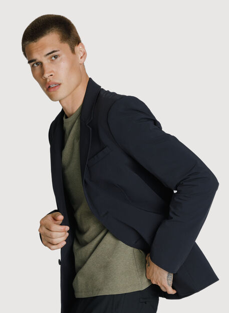 Tec Stretch Blazer, BLACK | Kit and Ace