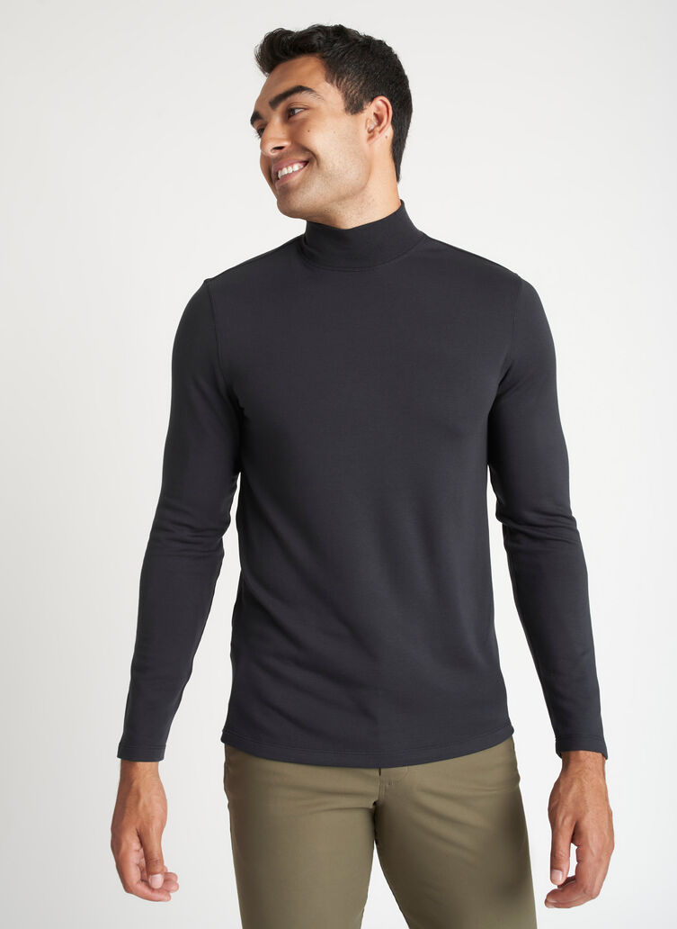 First Class Turtleneck, Black   Kit and Ace
