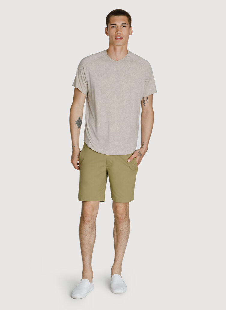 Navigator Stretch Short 2.0, Olive Moss | Kit and Ace