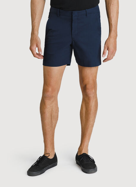 Navigator Commute Short 6 Inch, DK Navy | Kit and Ace
