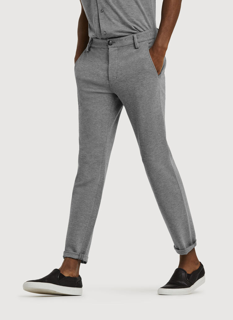 Bidwell Pant 2.0, HTHR GREY | Kit and Ace