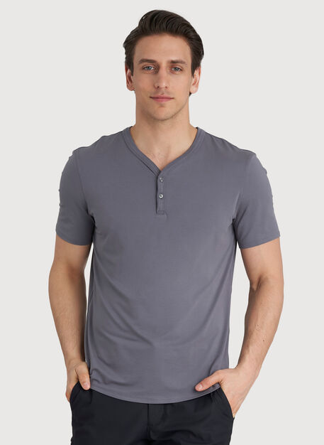 Ace Tech Henley Tee, Shade | Kit and Ace
