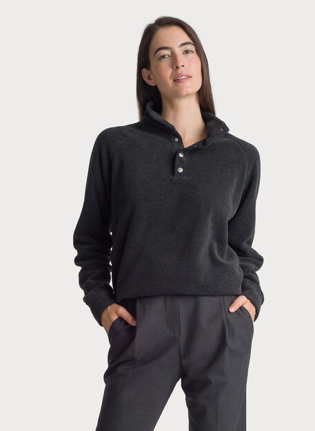 Chillout Fleece Pullover, GROUSE GREY | Kit and Ace