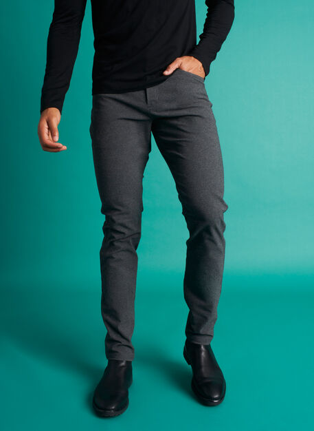Stride Pants, Heather Charcoal | Kit and Ace