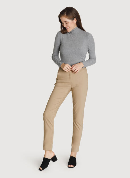 Womens Navigator Stretch Trouser, Petrified Oak | Kit and Ace