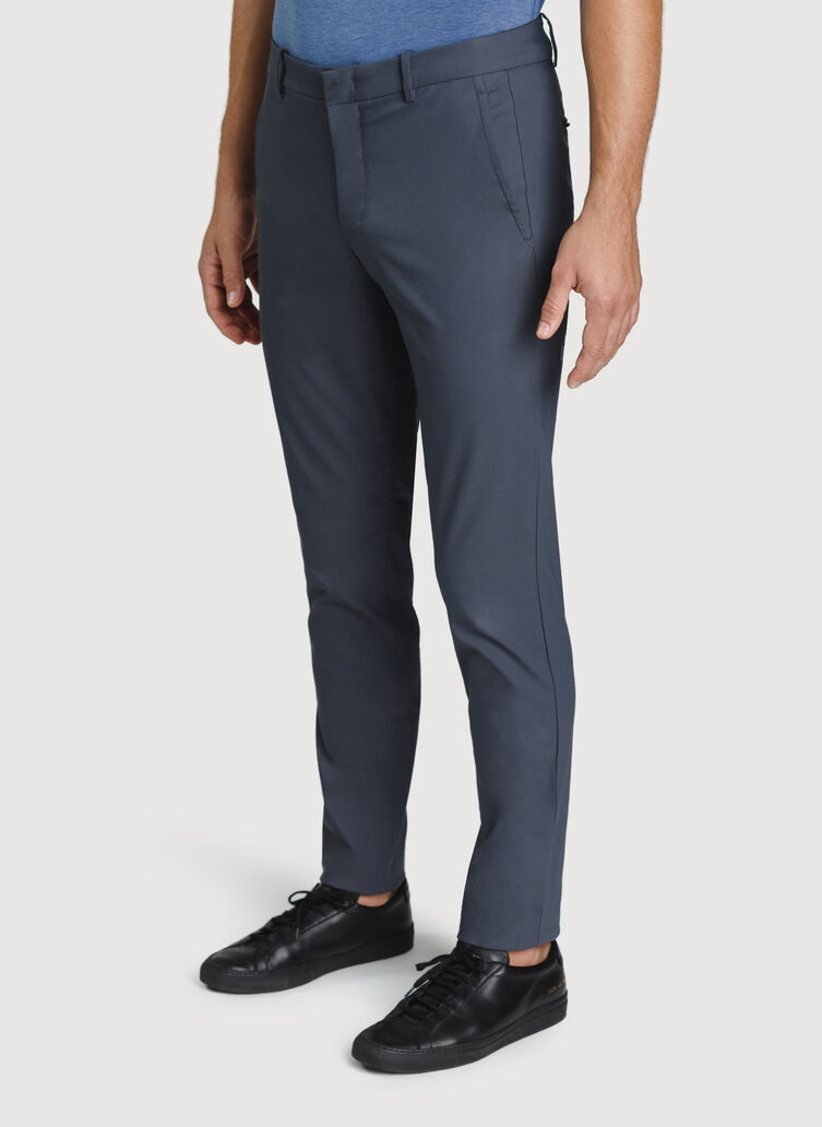 Navigator Commute Pant Slim Fit, Cove Grey | Kit and Ace