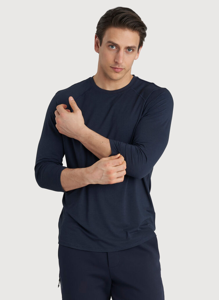 Ace Baseball Tee, DK Navy | Kit and Ace