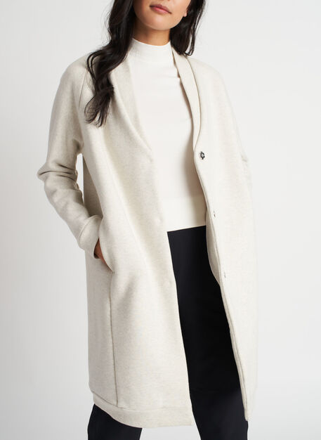 Cut the Cold Jacket, Heather White | Kit and Ace