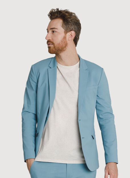 Navigator Stretch Blazer 2.0, Smoke Blue | Kit and Ace