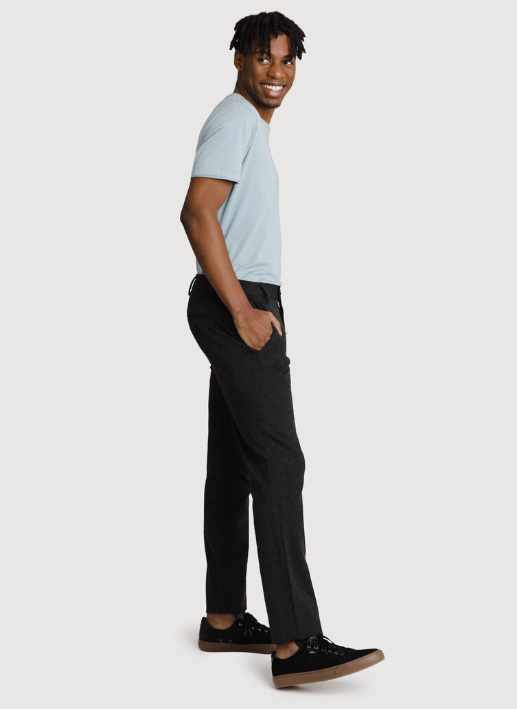 Bidwell Pant 2.0, HTHR Charcoal | Kit and Ace