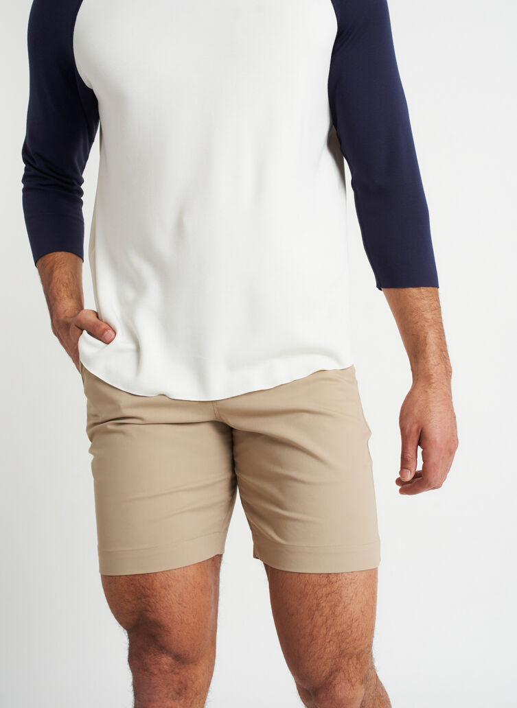 Full Potential Shorts 8 Inches | Navigator Collection, Driftwood | Kit and Ace