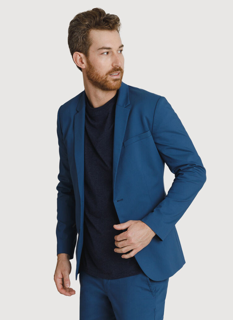 Navigator Stretch Blazer 2.0, Dark Denim | Kit and Ace