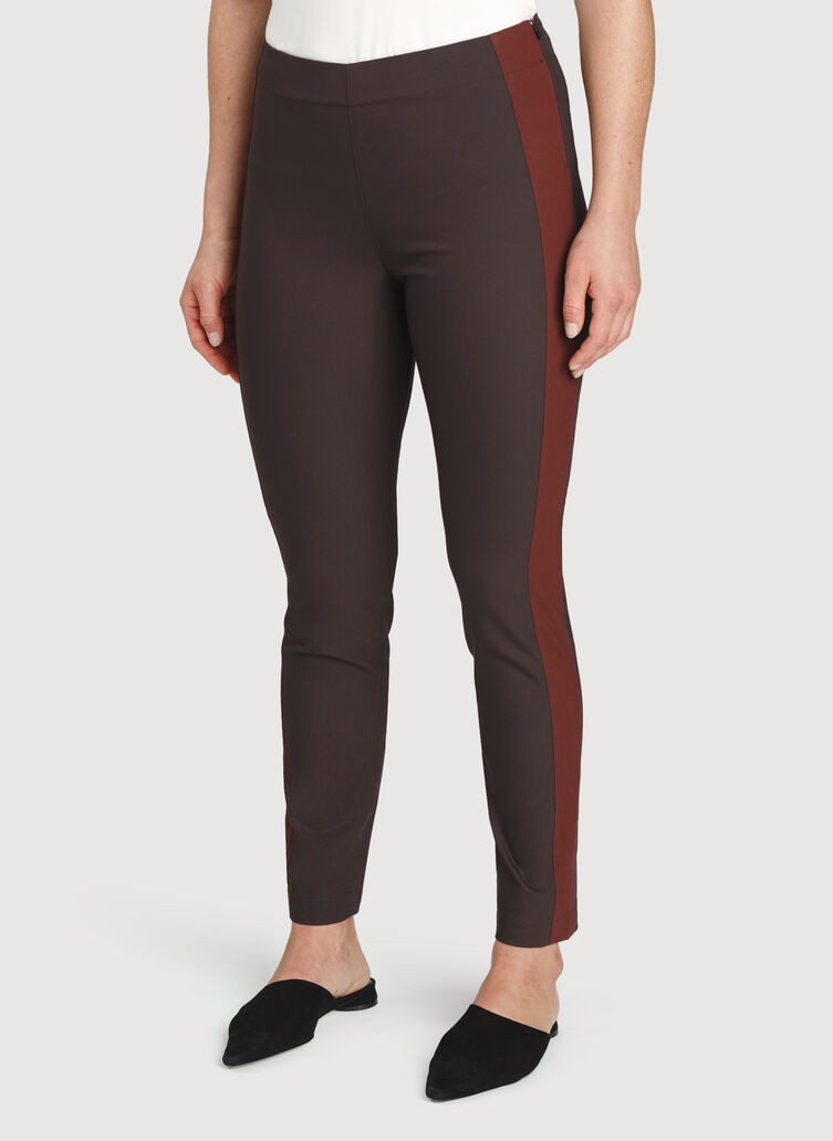Classic Ankle Pant, After Dark/Cherrywood | Kit and Ace