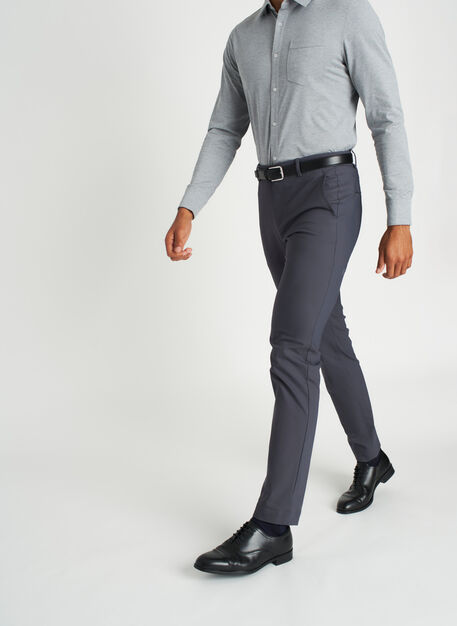 Commute Pants Standard Fit | Navigator Collection, Cove Grey | Kit and Ace