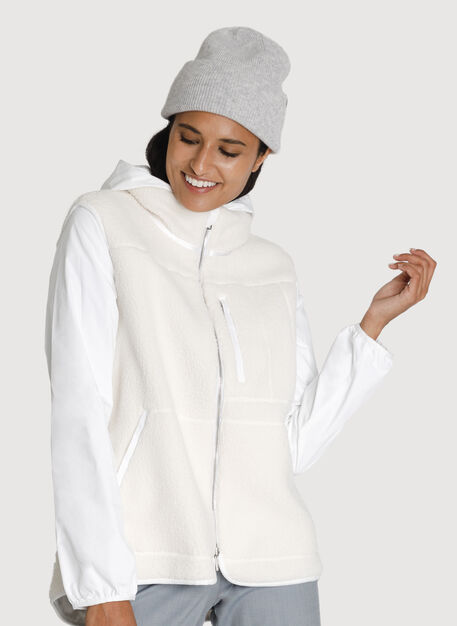 Reversible Cove Jacket, BRIGHT WHITE/BONE | Kit and Ace