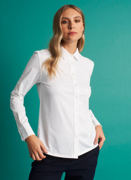 On the Move Classic Blouse, Bright White | Kit and Ace