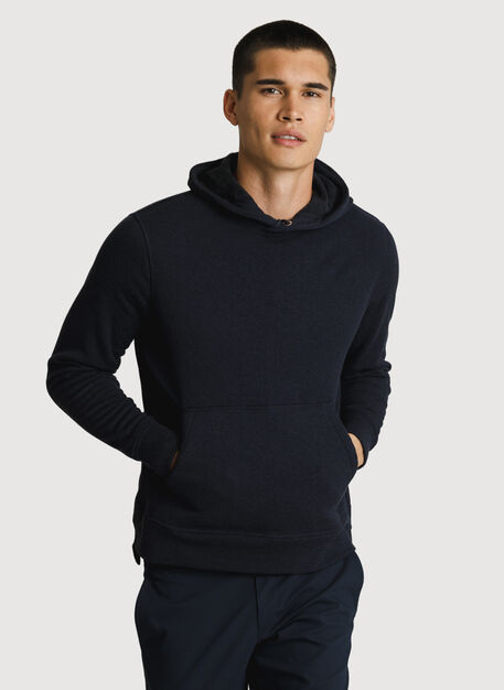 Rec Hoodie, HTHR DK Navy | Kit and Ace