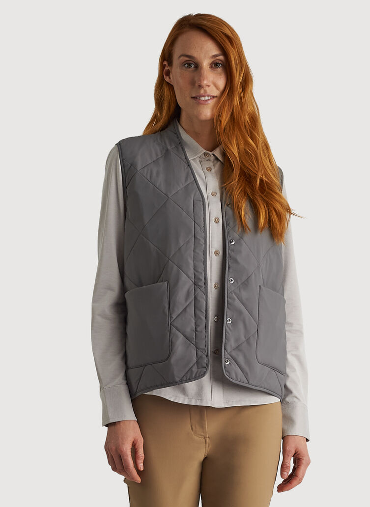 Cruising Vest, Iconic Grey | Kit and Ace