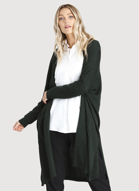 Long Haul Cardigan, Deep Forest | Kit and Ace