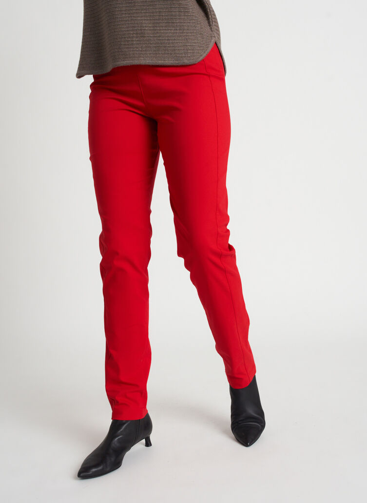 Classic Pants | Navigator Collection, Crimson | Kit and Ace