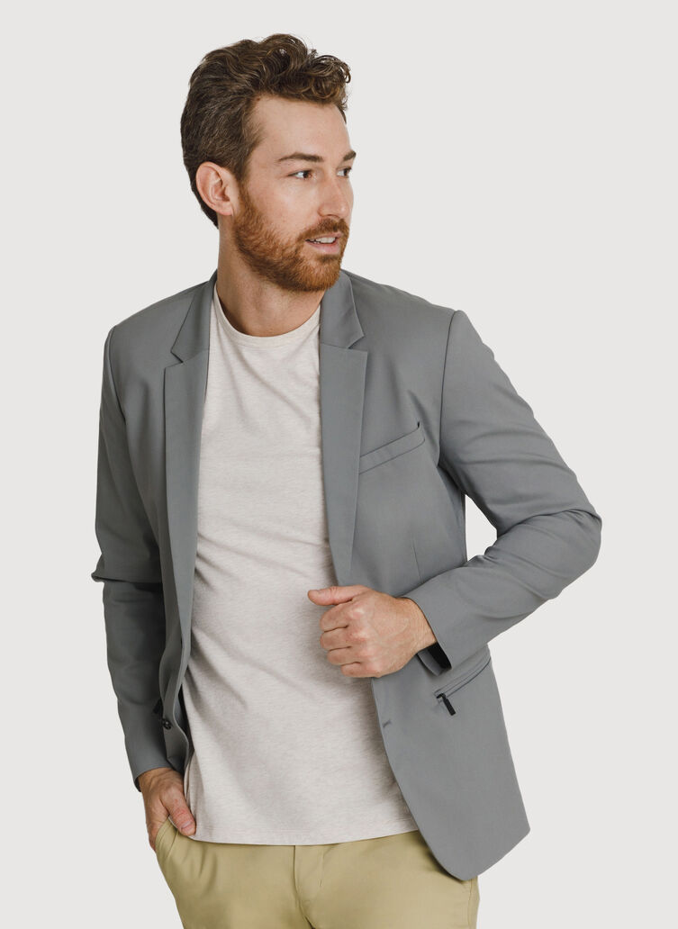Navigator Stretch Blazer 2.0, Steel Grey | Kit and Ace