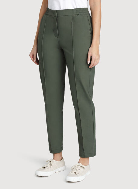 On The Go Ankle Pant, Ivy | Kit and Ace