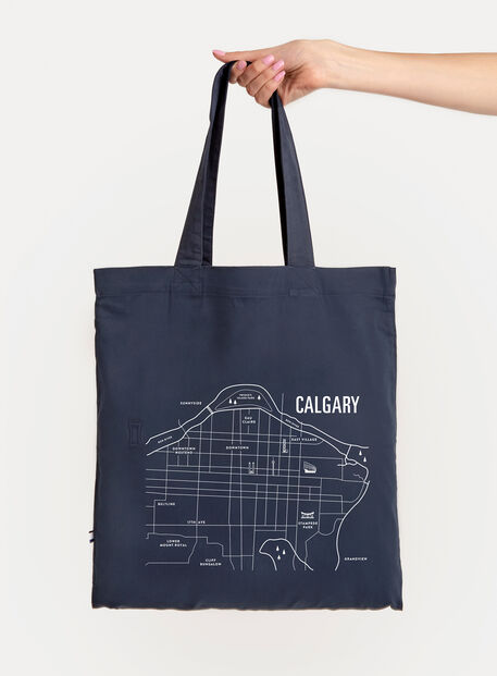 City Tote Bag, Navy/Calgary | Kit and Ace