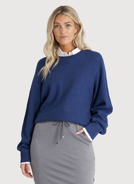 In the Clouds Sweater, HTHR Harbour | Kit and Ace