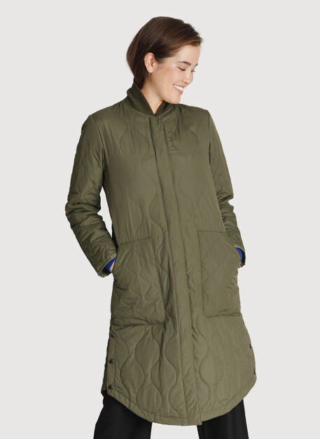 Kit Quilted Jacket *Lightweight, Field | Kit and Ace