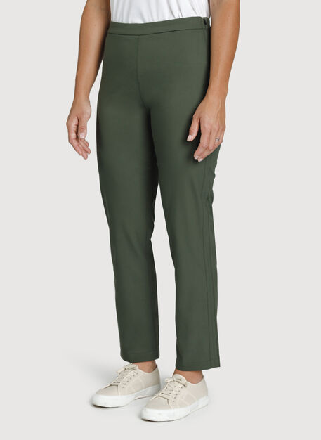 Navigator All Day Ankle Pant, Ivy | Kit and Ace