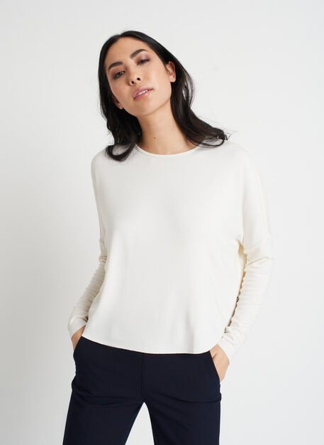 So Soft Pullover, Bone White | Kit and Ace