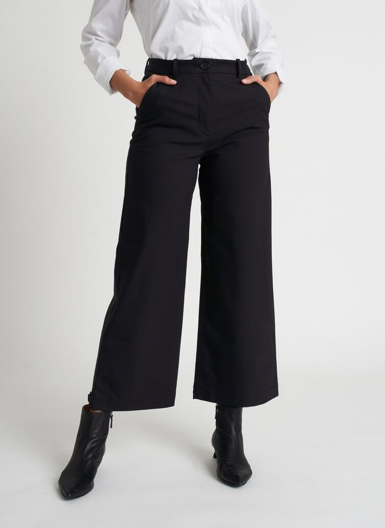 Around Town Crop Pants | Navigator Collection, Black | Kit and Ace
