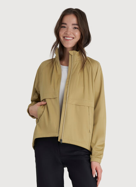Stow and Go Jacket, Sahara | Kit and Ace
