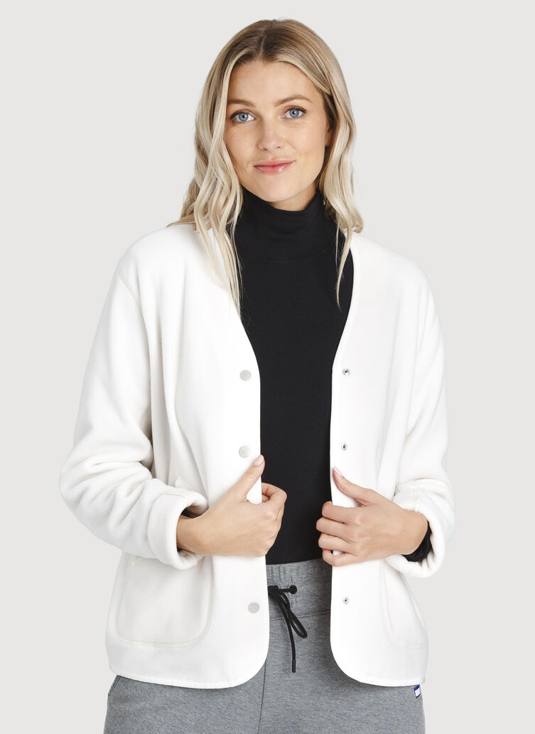Hygge Short Jacket, ECRU | Kit and Ace