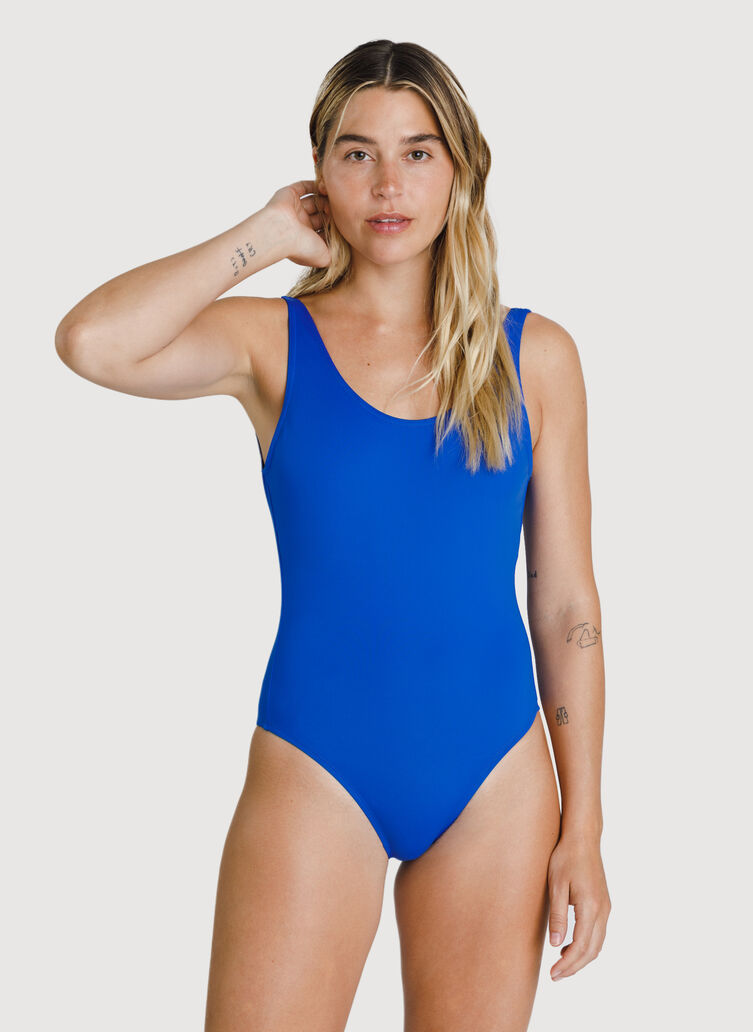 Kits Scoop Back Swim One Piece, KITS Blue | Kit and Ace