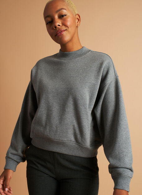 Pacific Coast Pullover, Heather Grey | Kit and Ace